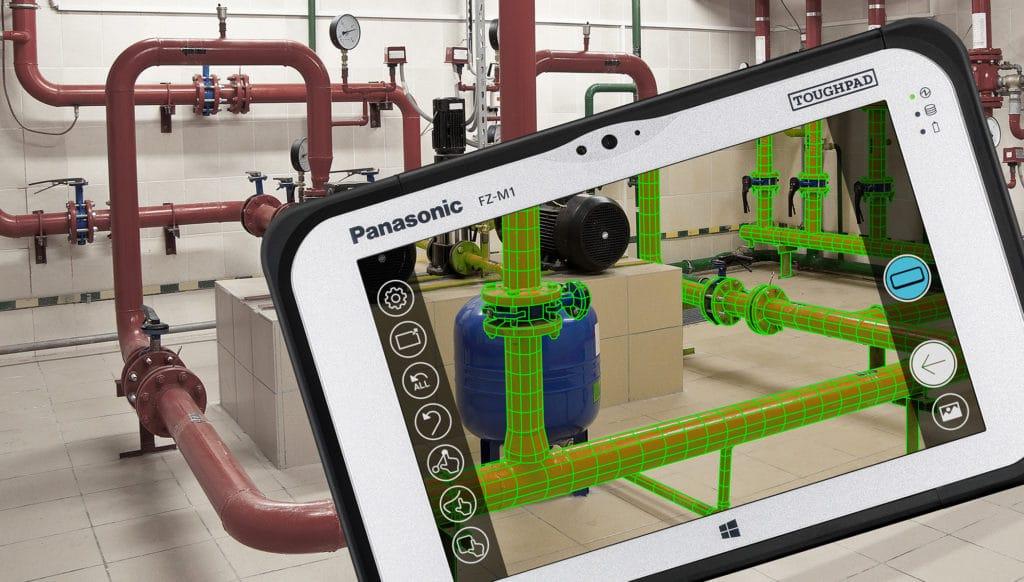 Panasonic Toughpad FZ-M1 RealSense