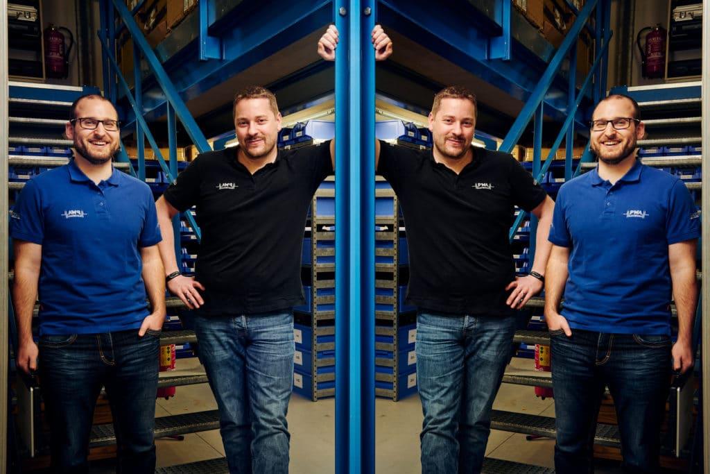 Unsere System Engineers: Daniel Vogel und Andreas Mürell