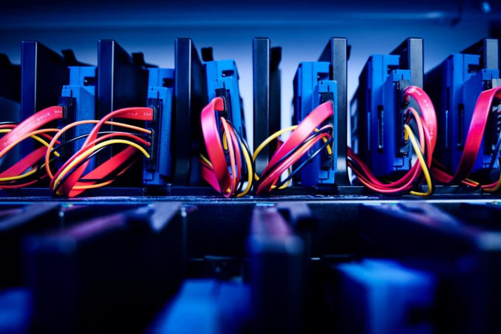 Kopiermaschine für Festplatten und SSDs